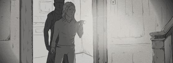 Looking through doorway 1