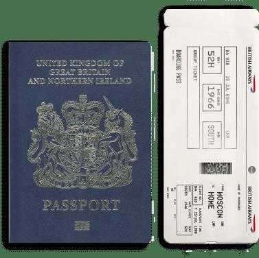 TUI blue passport UK