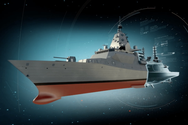 BAE 3D animated video capture